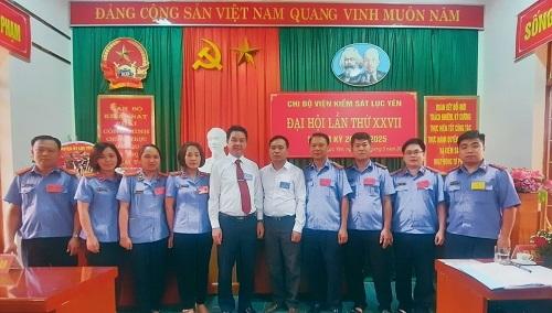 Chi bộ Viện Kiểm sát nhân dân huyện Lục Yên tổ chức thành công Đại hội lần thứ XXVII, nhiệm kỳ 2020 – 2025