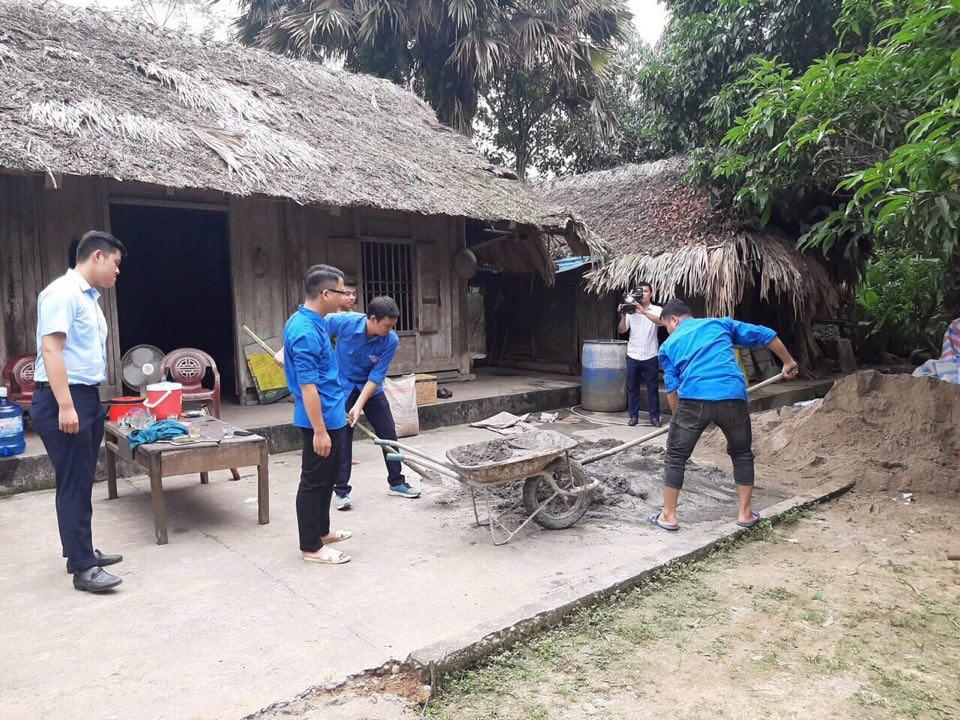 Chi đoàn VKS Trấn Yên tham gia chương trình tình nguyệt hè 2020