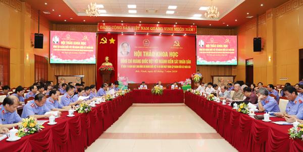 Đồng chí Hoàng Quốc Việt – Nhà lãnh đạo tiền bối tiêu biểu của Đảng, Nhà nước và ngành Kiểm sát nhân dân