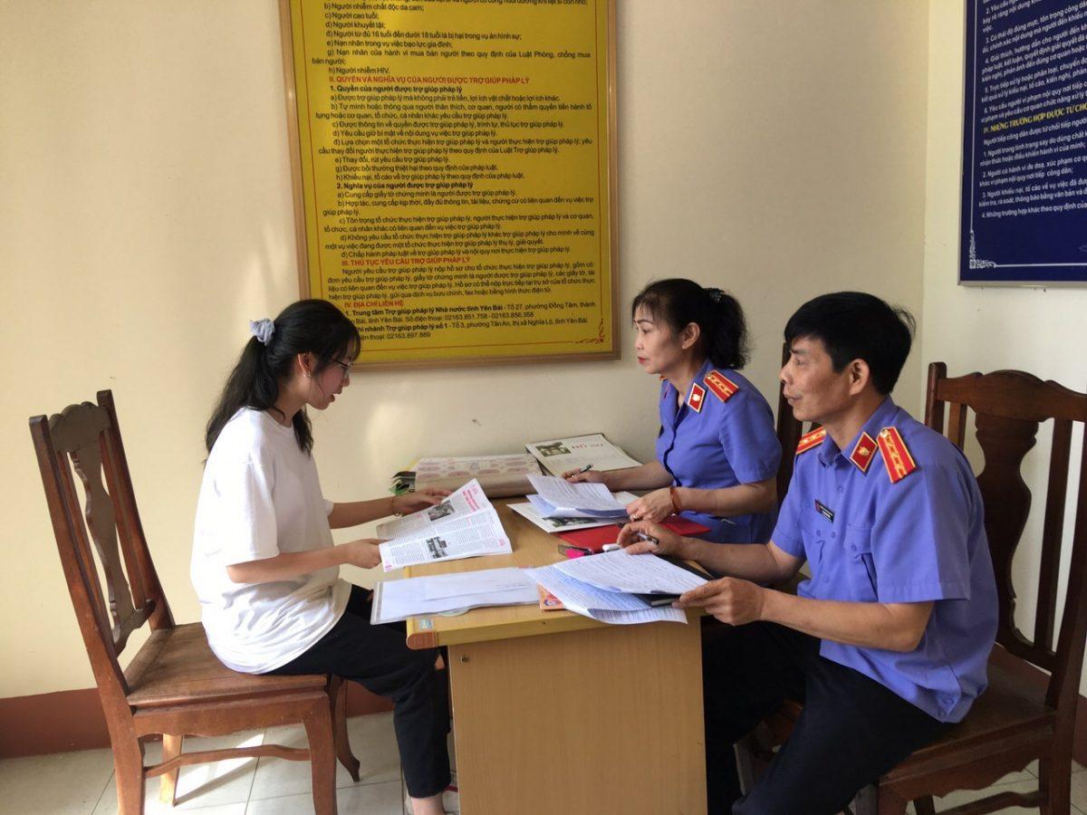 Viện kiểm sát nhân dân tỉnh Yên Bái tổ chức sơ tuyển thí sinh đăng ký xét tuyển vào Trường Đại học Kiểm sát Hà Nội năm 2020