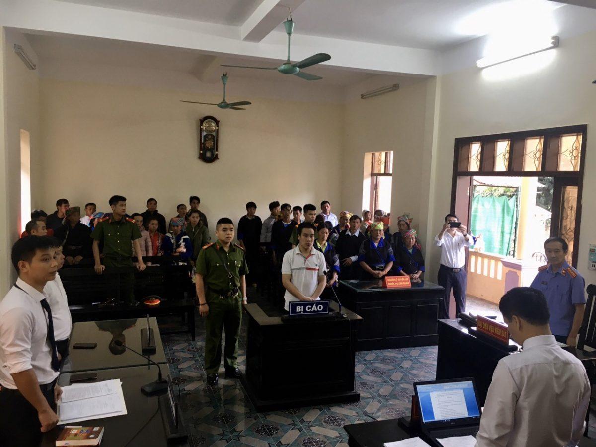 VKSND tỉnh Yên Bái phối hợp với tòa án nhân dân cùng cấp tổ chức phiên tòa xét xử lưu động các vụ án hình sự