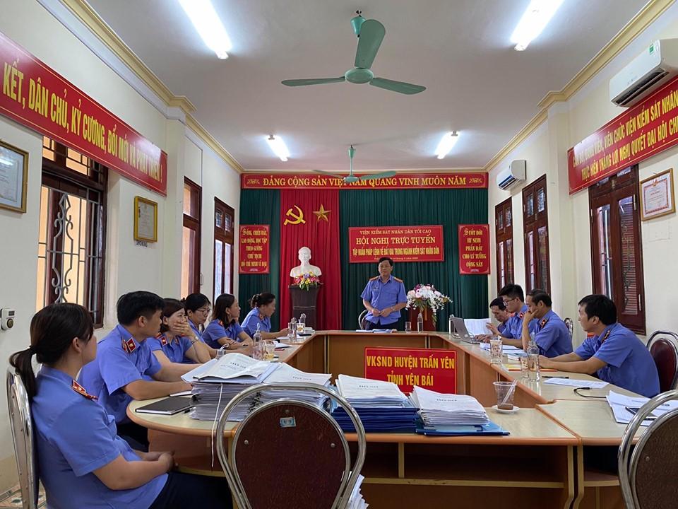VKS Trấn Yên tăng cường hiệu quả thực hành quyền công tố, kiểm sát hoạt động tư pháp thông qua công tác kiểm tra của VKSND tỉnh Yên Bái