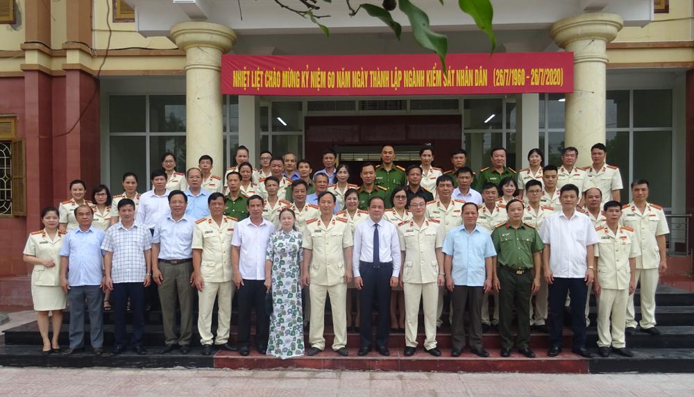 Viện kiểm sát nhân dân tỉnh Yên Bái tổ chức Lễ Kỷ niệm 60 năm ngày thành lập ngành Kiểm sát nhân dân (26/7/1960-26/7/2020).