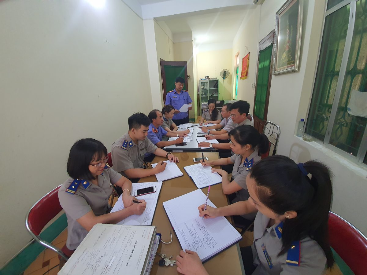 Viện kiểm sát nhân dân huyện Văn Chấn: Phúc tra việc thực hiện kiến nghị trong Kết luận kiểm sát trực tiếp thi hành án dân sự năm 2019