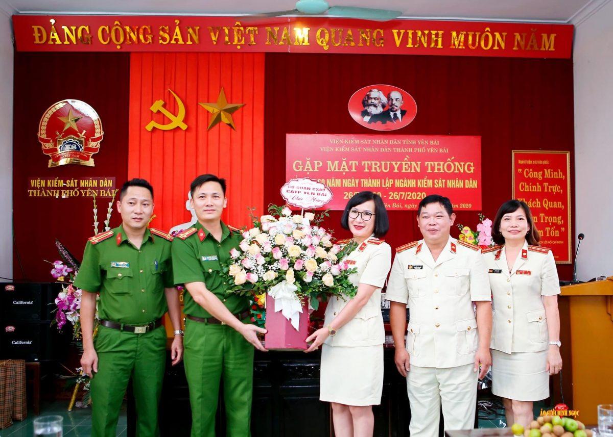 Viện kiểm sát nhân dân thành phố Yên Bái tọa đàm kỷ niệm 60 năm thành lập ngành Kiểm sát nhân dân (26/7/1960 – 26/7/2020).