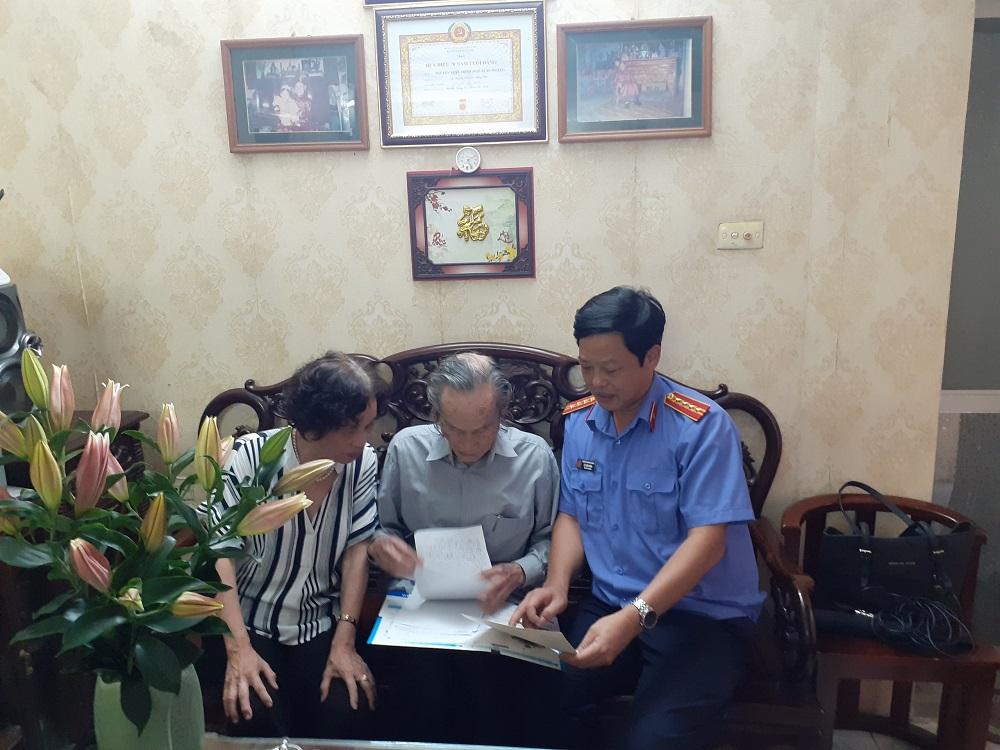 Phỏng vấn đồng chí Nguyễn Xuân Trình, Viện trưởng đầu tiên của ngành Kiểm sát Yên Bái nhân dịp kỷ niệm 60 năm thành lập ngành Kiểm sát nhân dân