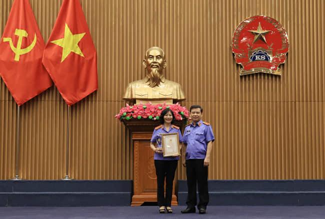 Viện kiểm sát nhân dân tỉnh Yên Bái hưởng ứng cuộc thi viết do Viện kiểm sát nhân dân tối cao phát động