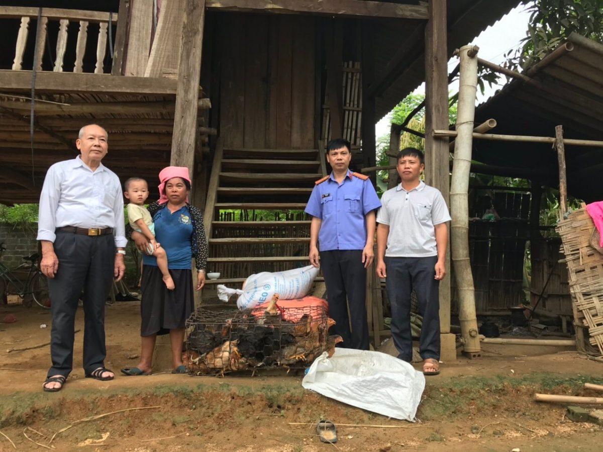 VKSND thị xã Nghĩa Lộ tích cực hưởng ứng phong trào xây dựng nông thôn mới, góp phần cùng địa phương thực hiện mục tiêu giảm nghèo