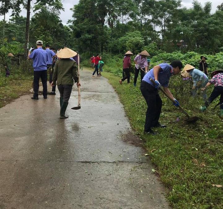 VKSND Trấn Yên sôi động ngày thứ 7 cùng dân tại xã Minh Quân