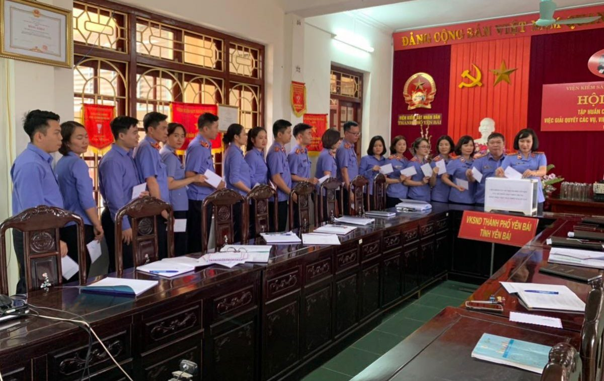 VKSND thành phố Yên Bái phát động ủng hộ đồng bào miền Trung