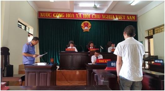 VKSND huyện Văn Chấn phối hợp với Tòa án nhân dân cùng cấp tổ chức 04 phiên tòa xét xử hình sự sơ thẩm rút kinh nghiệm