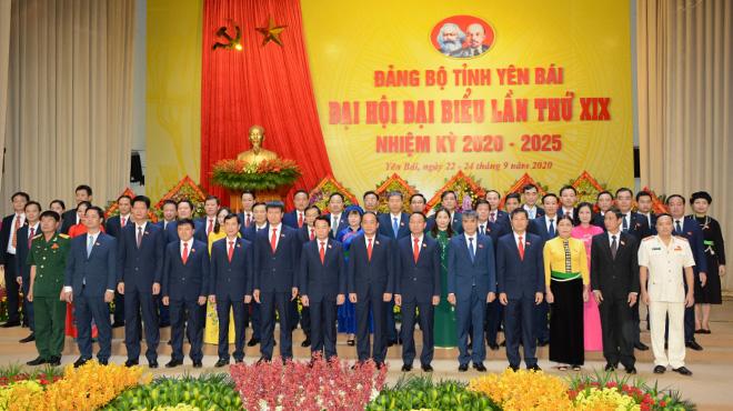 Đồng chí Nguyễn Hoài Nam, Viện trưởng VKSND tỉnh Yên Bái trúng cử vào Ban chấp hành Đảng bộ tỉnh Yên Bái,nhiệm kỳ 2020 – 2025