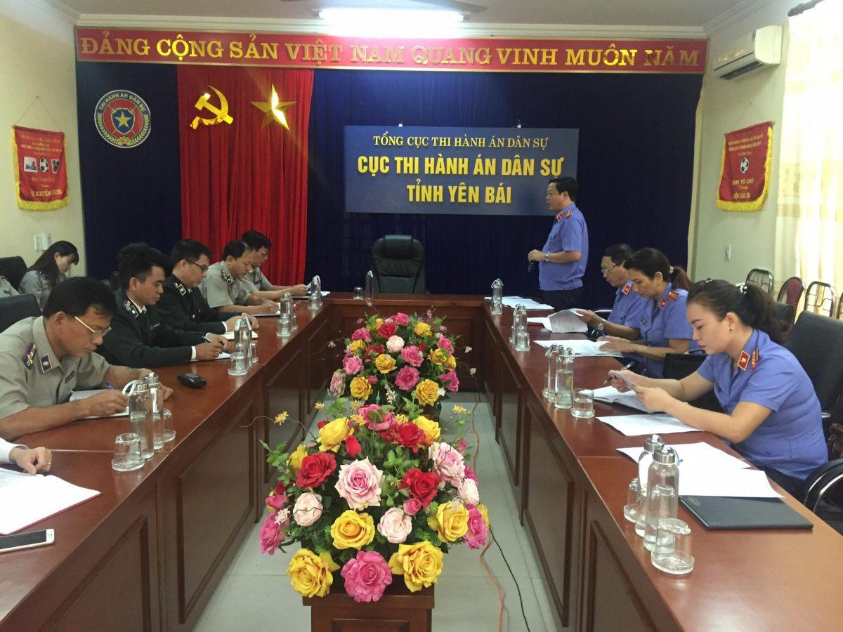 VKSND tỉnh kiểm sát trực tiếp việc tuân theo pháp luật về thi hành án dân sự đối với Cục thi hành án dân sự tỉnh