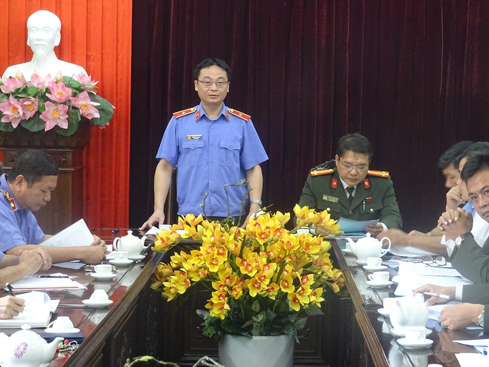 Đoàn kiểm tra công tác bảo vệ bí mật nhà nước tỉnh Yên Bái kiểm tra về công tác bảo vệ bí mật nhà nước tại Viện kiểm sát nhân dân tỉnh