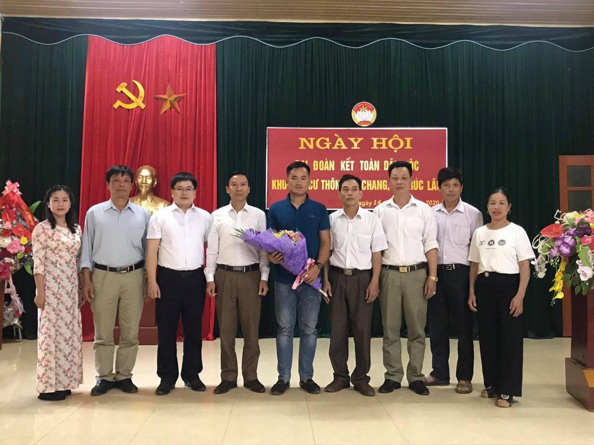 VKS Lục Yên dự ngày hội Đại đoàn kết toàn dân tại xã Trúc Lâu