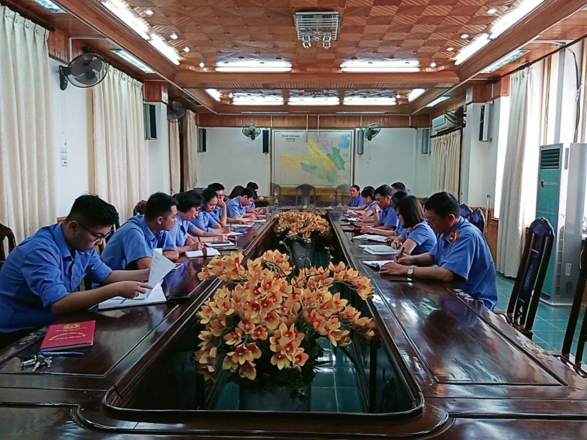 Văn phòng tổng hợp VKSND tỉnh Yên Bái hoàn thành xuất sắc nhiệm vụ năm 2020