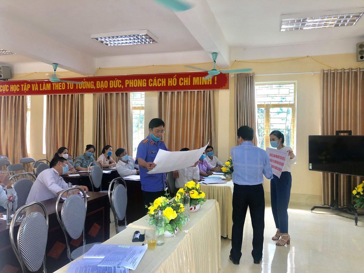 VKSND Văn Chấn với công tác bầu cử Quốc hội và Hội dồng nhân dân các cấp