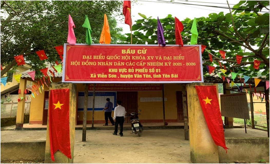 VKSND tỉnh Yên Bái kiểm tra công tác chuẩn bị bầu cử tại  xã Viễn Sơn, huyện Văn Yên