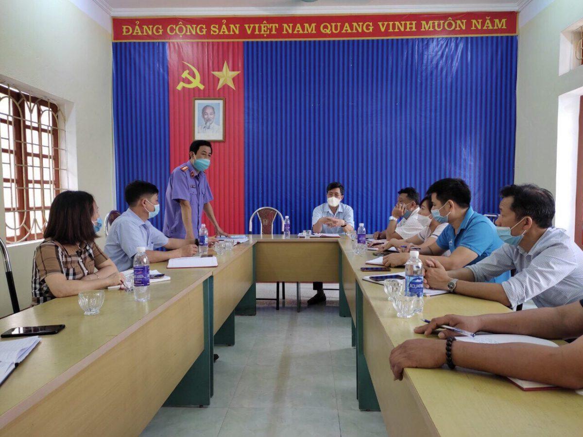 Kiểm tra công tác chuẩn bị bầu cử Đại biểu Quốc hội và Hội đồng nhân dân các cấp nhiệm kỳ 2021-2026 tại xã Yên Thành, huyện Yên Bình