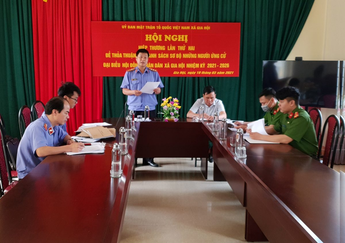 VKSND huyện Văn Chấn về đích sớm chỉ tiêu trực tiếp kiểm sát việc thi hành án hình sự tại Ủy ban nhân dân cấp xã