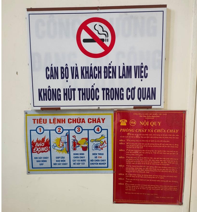 VKSND huyện Văn Yên tích cực xây dựng cơ quan, đơn vị không khói thuốc