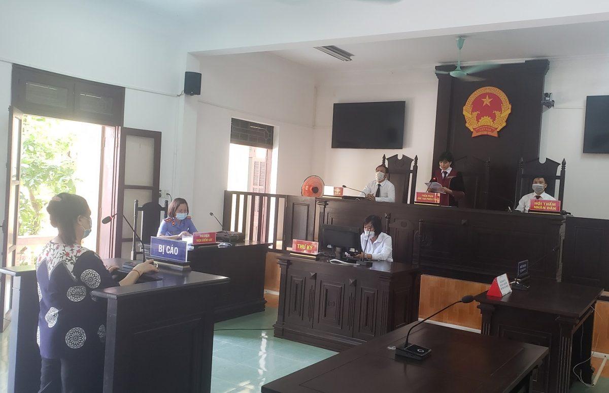 Lãnh đạo VKSND huyện Yên Bình trực tiếp tham gia phiên tòa hình sự