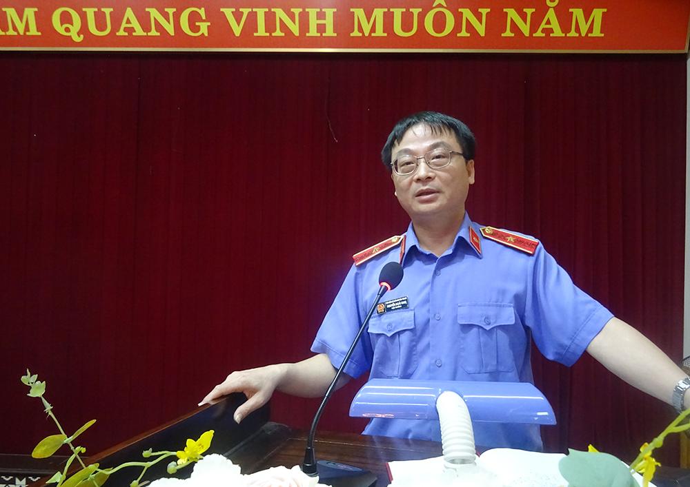 VKS tỉnh tổ chức Hội nghị trực tuyến sơ kết công tác  kiểm sát 9 tháng đầu năm 2021 ngành Kiểm sát Yên Bái