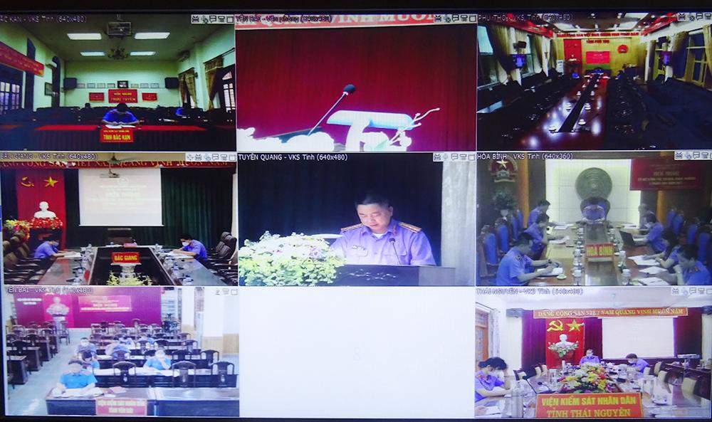 Hội nghị sơ kết công tác thi đua Cụm số 4 ngành Kiểm sát nhân dân