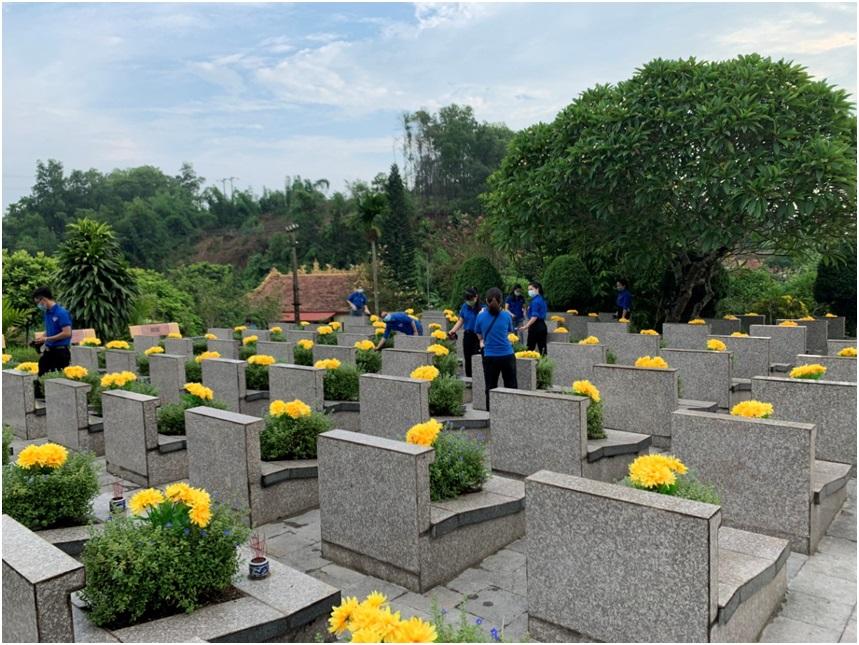 Chi đoàn VKSND tỉnh Yên Bái hòa chung với không khí của cả nước hướng tới kỷ niệm 74 năm ngày thương bình liệt sỹ (27/7/1947 – 27/7/2021)