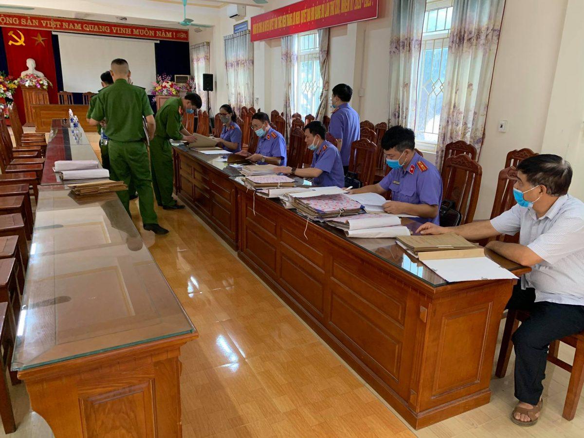 VKSND tỉnh Yên Bái kiểm sát trực tiếp Cơ quan Thi hành án hình sự Công an huyện Lục Yên