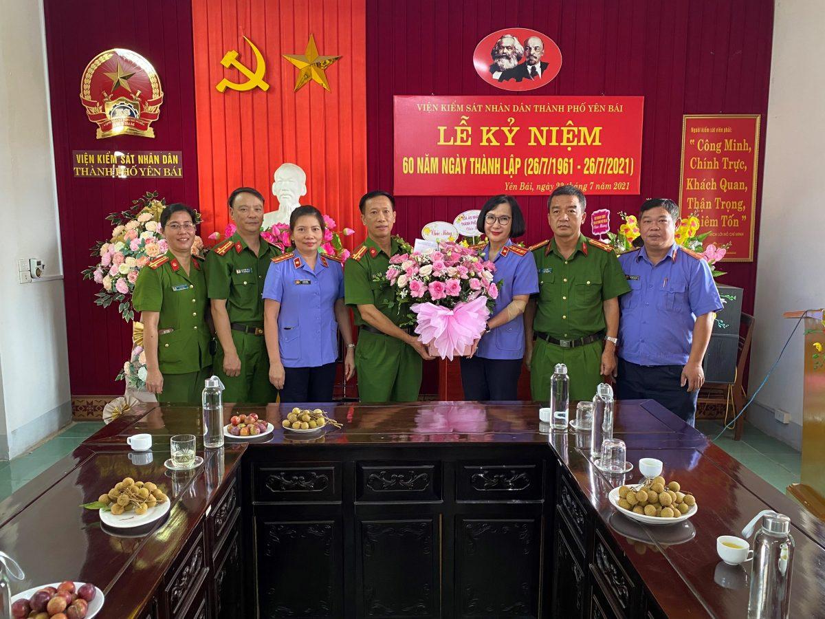 VKSND thành phố Yên Bái tọa đàm kỷ niệm 61 năm thành lập ngành Kiểm sát nhân dân (26/7/1960 – 26/7/2020), 60 năm thành lập Viện kiểm sát nhân dân thành phố Yên Bái (1961 – 2021)
