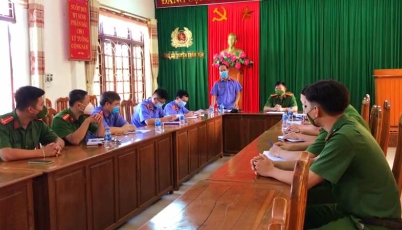 VKSND tỉnh Yên Bái trực tiếp kiểm sát việc tiếp nhận, giải quyết nguồn tin về tội phạm