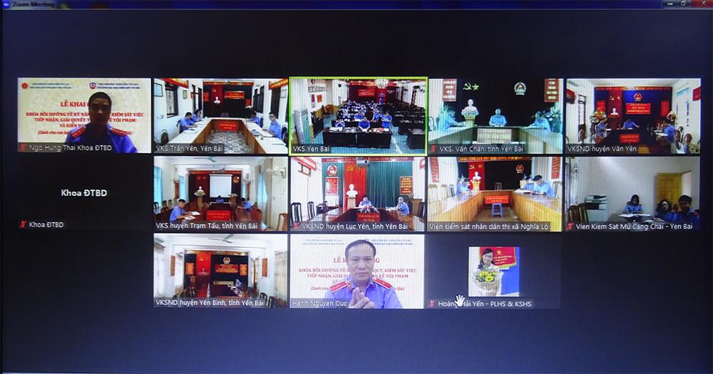 VKSND tỉnh Yên Bái tập huấn kỹ năng nghiệp vụ chuyên sâu về hình sự