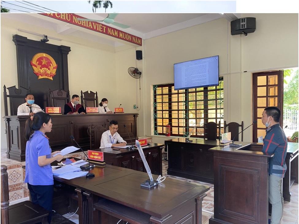 VKSND huyện Văn Yên thực hiện số hóa vụ án hình sự